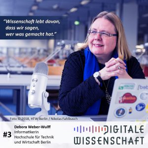 #3: Ein Besuch bei Debora Weber-Wulff, HTW Berlin
